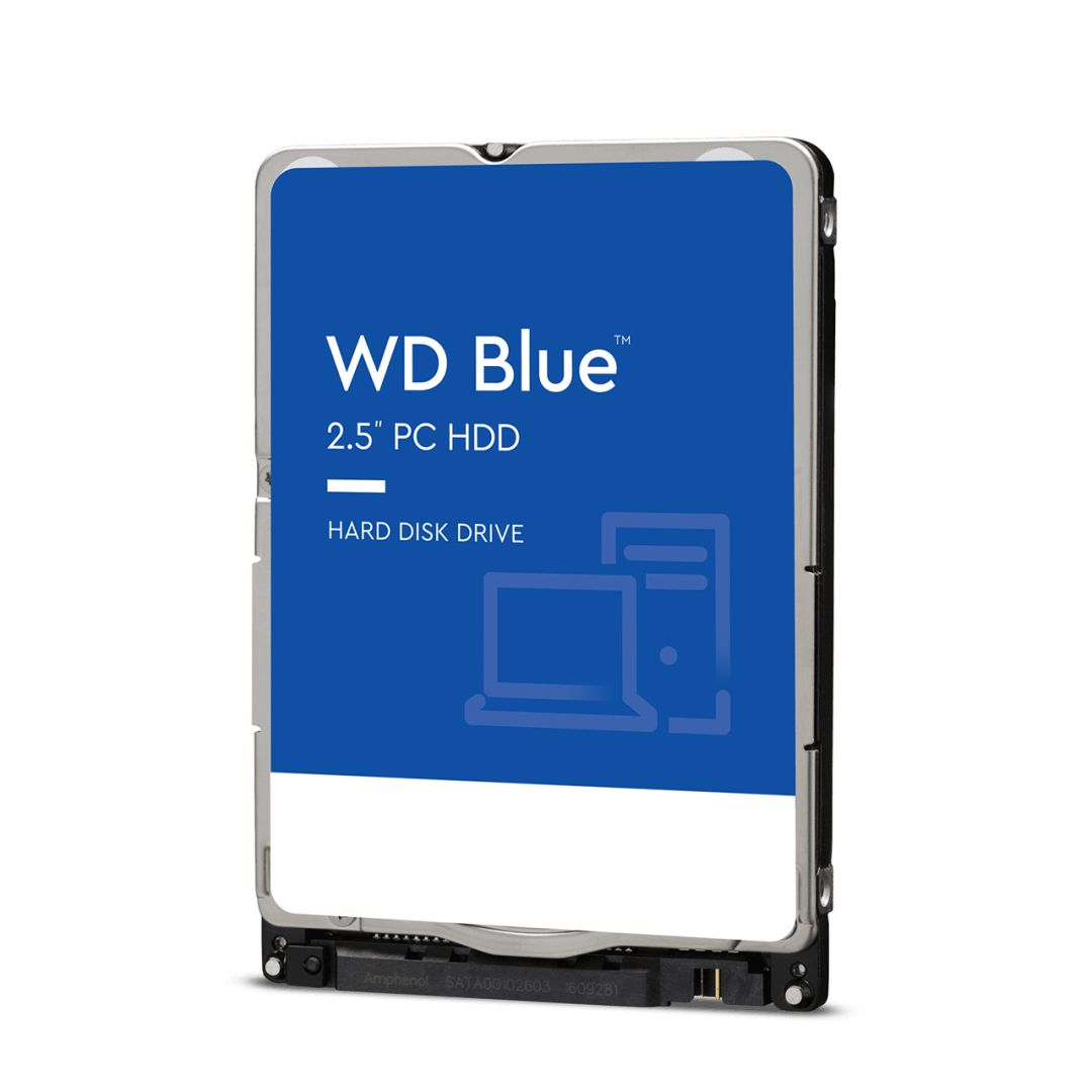 "Western Digital 2TB 5400rpm SATA-600 2,5"" 128MB 7mm Blue WD20SPZX"