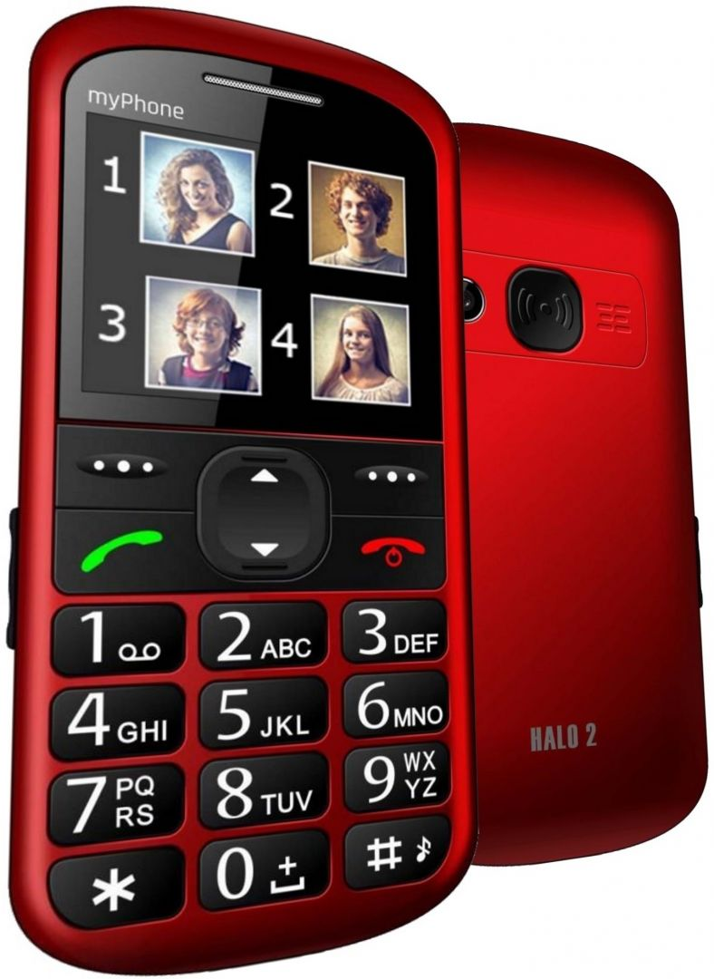 MyPhone Halo 2 Red