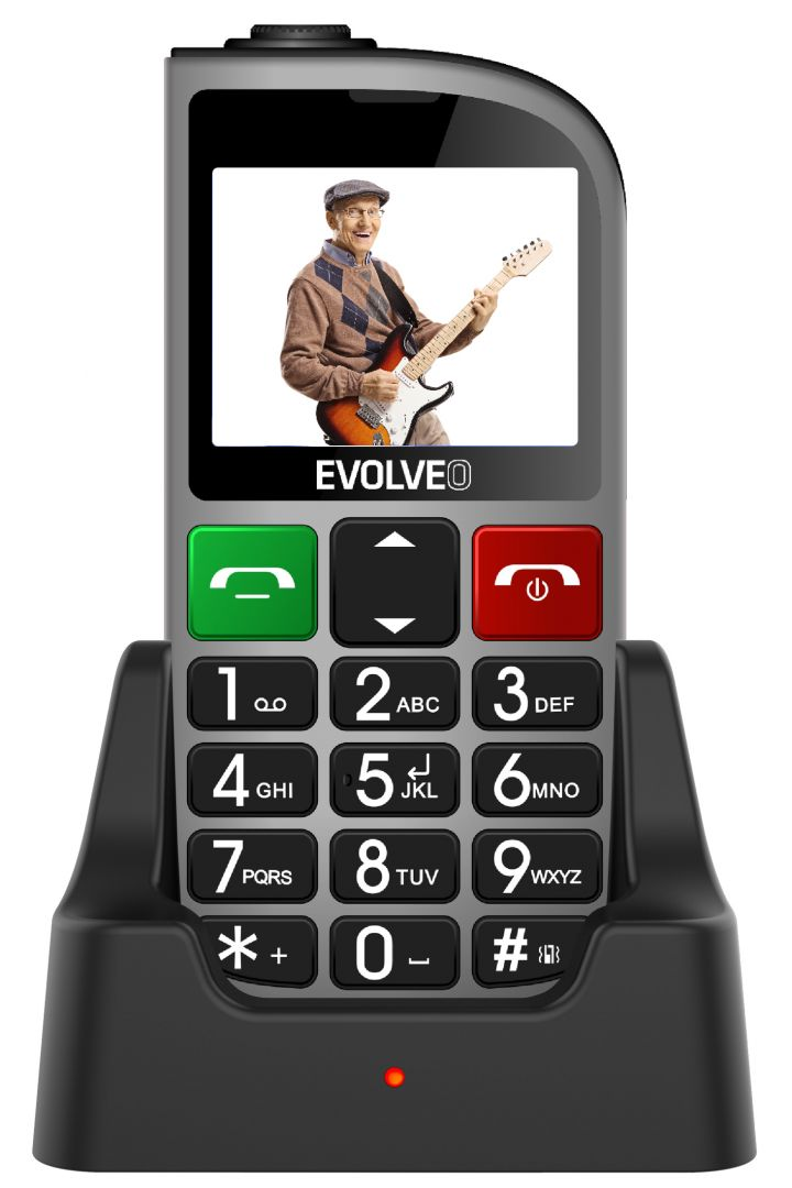 Evolveo EasyPhone EP-800 FD Silver