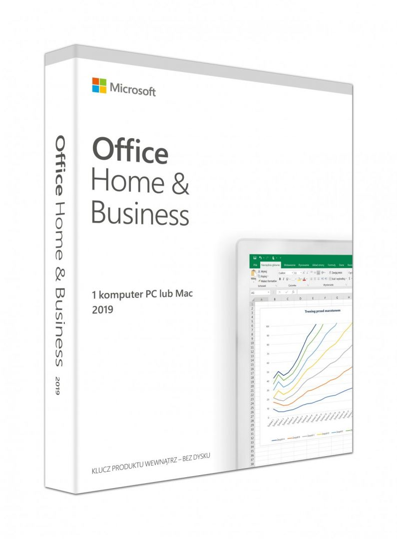 Microsoft Office 2019 Home and Business P6 English