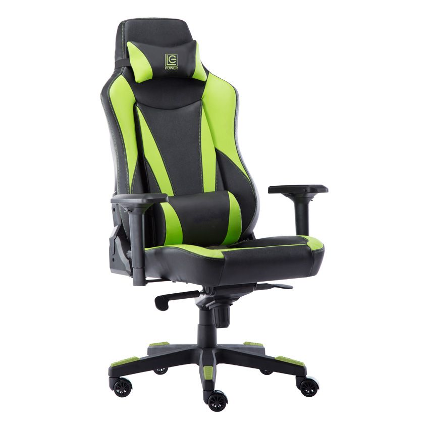 LC Power LC-GC-701BG Gaming Chair Black/Green