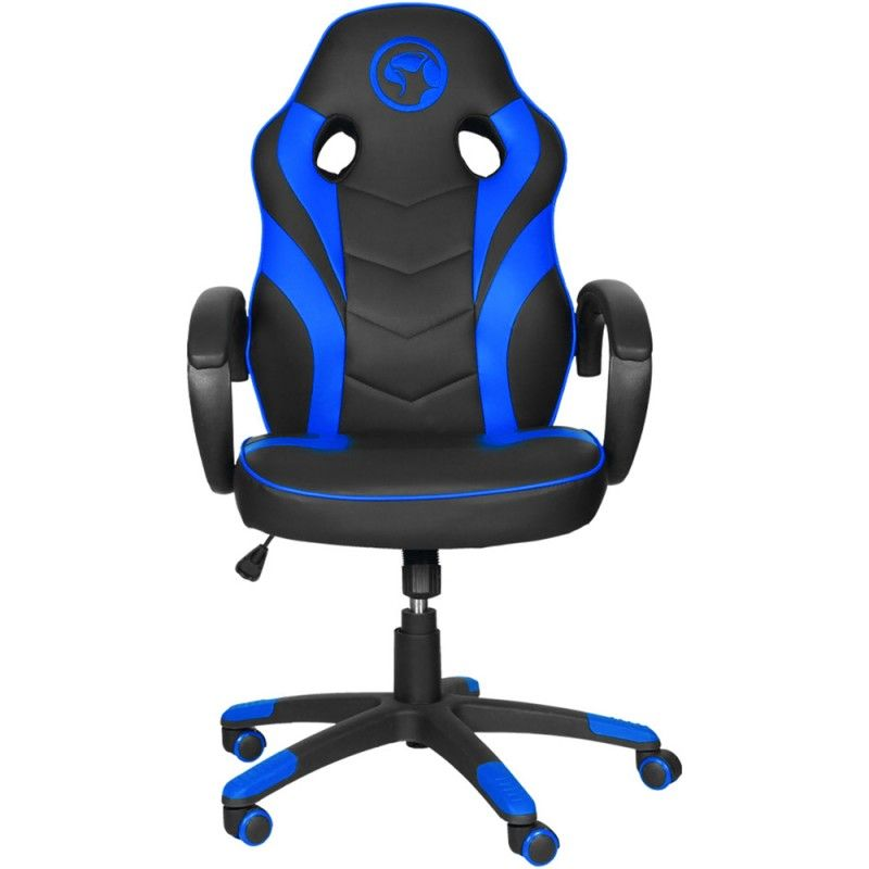 Marvo CH-301 Scorpion Swivel Gaming Chair Black/Blue