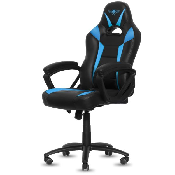 Spirit Of Gamer Fighter Gaming Chair Black/Blue