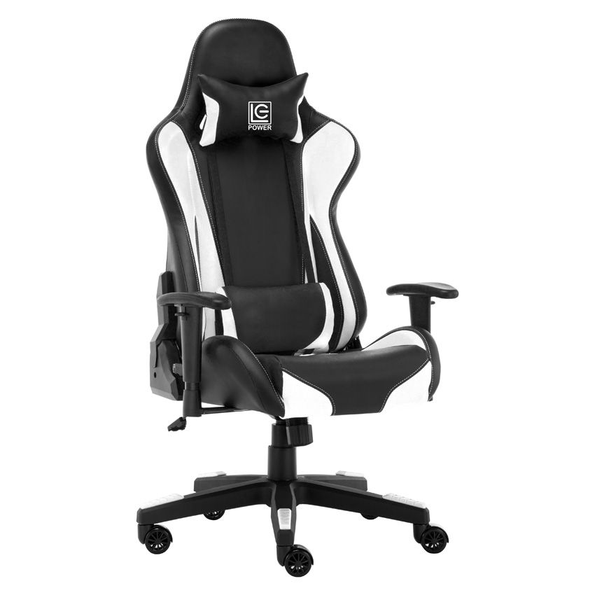 LC Power LC-GC-600BW Gaming Chair Black/White