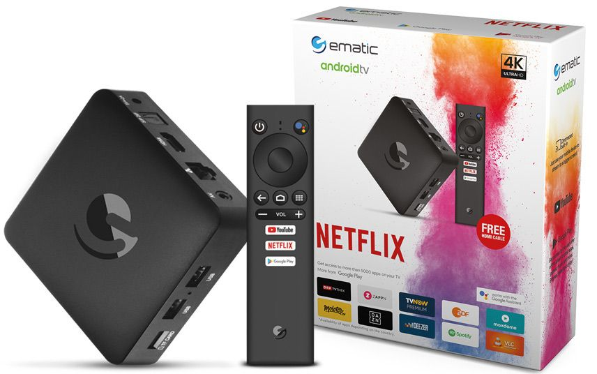 Strong SRT 202 EMATIC 4K Ultra HD Android mediaplayer