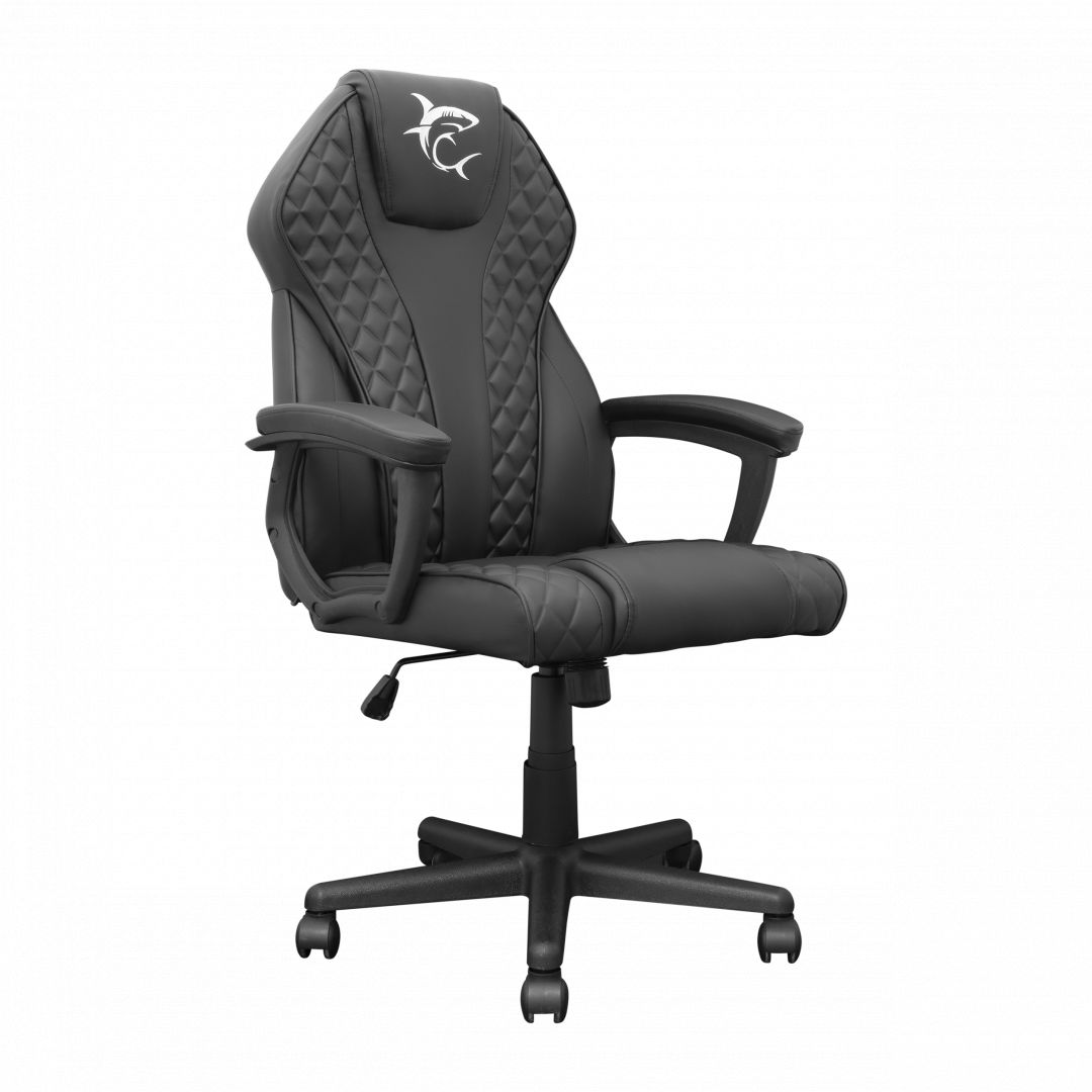 White Shark Pirate Gaming Chair Black