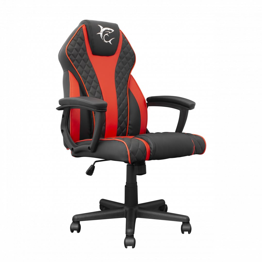 White Shark Pirate Gaming Chair Black/Red