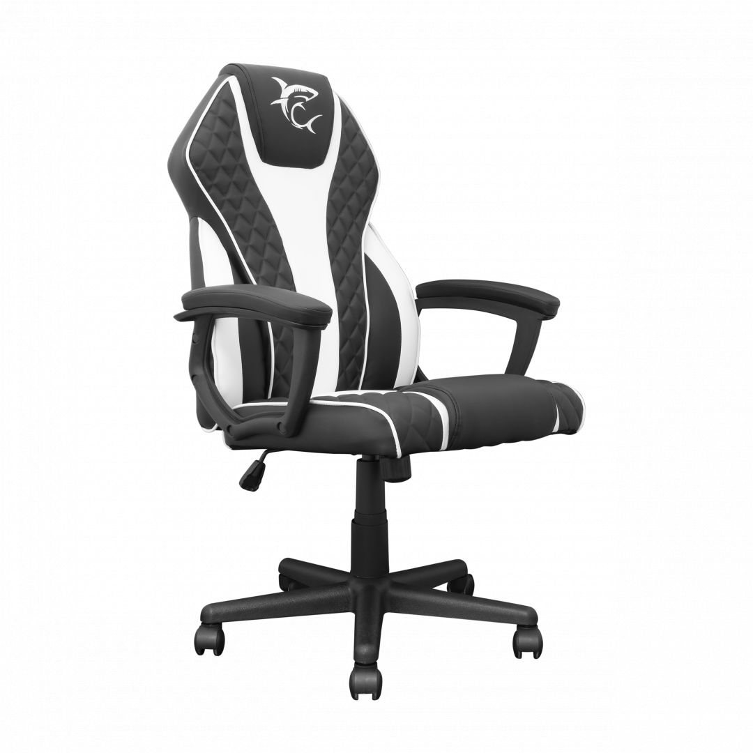 White Shark Pirate Gaming Chair Black/White