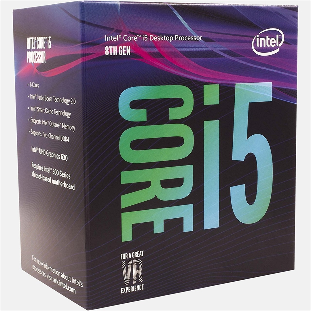 Intel Core i5-8400 2800MHz 9MB LGA1151 Box